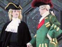 Karnevalet Venezia, kostymerar och maskerar 12 Royaltyfri Foto