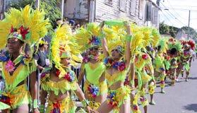 Karnevalfärger Arkivfoto