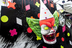 Karnevalfasamaskering 2014 Royaltyfri Foto