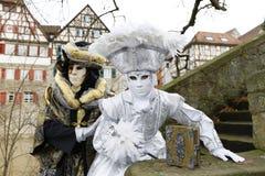 Karnevalfestival - Hallia VENEZIA Arkivfoto