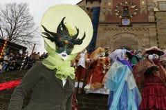Karnevalfestival - Hallia VENEZIA Arkivfoton