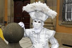 Karnevalfestival - Hallia VENEZIA Royaltyfria Foton