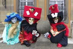 Karnevalfestival - Hallia VENEZIA Royaltyfri Fotografi