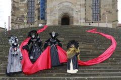 Karnevalfestival - Hallia VENEZIA Royaltyfria Bilder