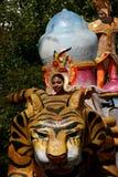karnevalfloat Fotografering för Bildbyråer