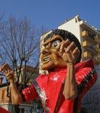 karnevalfloat jackson michael Fotografering för Bildbyråer