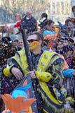 karnevalfolk royaltyfri fotografi
