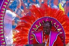 karnevalfolkmassa Arkivbilder