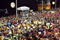 karnevalgata Royaltyfria Foton