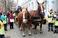 Karnevalgatan ståtar Royaltyfri Fotografi