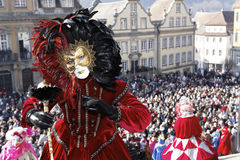 karnevalhalliavenezia Arkivbild