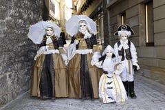 karnevalhalliavenezia Royaltyfri Foto