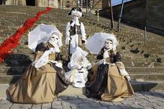karnevalhalliavenezia Arkivfoto