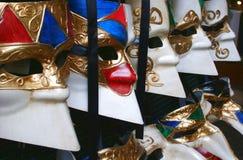 karnevalitaly maskering venice Royaltyfri Foto