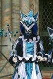karnevalitaly maskering venice Arkivbild