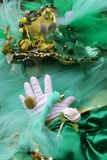 karnevalitaly maskering venice Arkivfoto