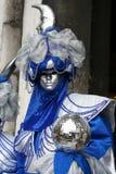 karnevalitaly maskering venice Arkivfoton