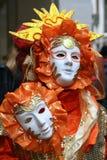 karnevalitaly maskering venice Royaltyfri Bild