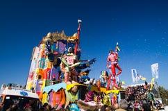karnevalitaly viareggio 2011 arkivbilder