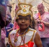 karnevalkull london som notting Arkivfoto