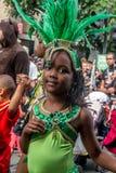 karnevalkull london som notting Arkivbild