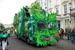 karnevalkull som 2008 notting Arkivfoto