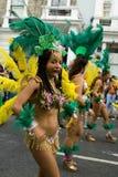 karnevalkull som 2008 notting arkivbild