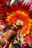karnevalkull som 2010 notting Arkivbilder