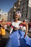 karnevalkull som 2011 notting Royaltyfri Fotografi