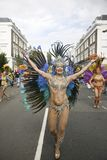 karnevalkull som 2011 notting Royaltyfria Foton
