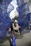 karnevalkull som 2011 notting Arkivbild