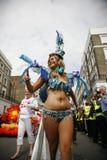 karnevalkull som 2011 notting Royaltyfri Bild