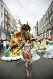 karnevalkull som 2011 notting Arkivbilder