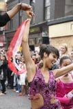 karnevalkull som 2011 notting Fotografering för Bildbyråer