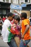 karnevalkull som 2011 notting Arkivfoton
