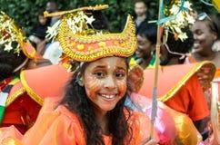 karnevalkull som notting Royaltyfria Bilder