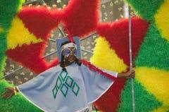 karnevalkull som notting Arkivbilder