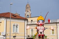 Karnevalkvinnamaskering 2014 Royaltyfria Bilder