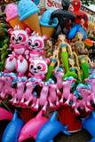 Karnevalleksaker Royaltyfri Foto