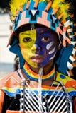 karnevalmålarfärg Arkivfoto