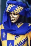 karnevalmaskering Royaltyfri Fotografi