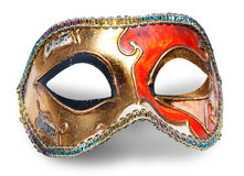 karnevalmaskering Arkivfoton