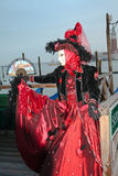karnevalmaskering 2011 venice arkivbilder
