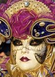 karnevalmaskering 2012 venice royaltyfria bilder