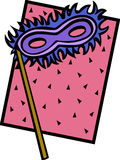 karnevalmaskering Royaltyfria Bilder