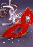 karnevalmaskering Arkivbilder
