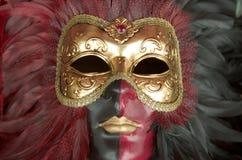 karnevalmaskering venetian venice Arkivfoton