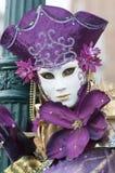 karnevalmaskering venice Arkivfoton