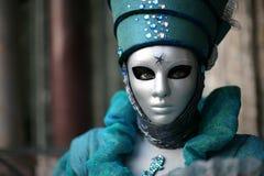 karnevalmaskering venice Arkivbilder