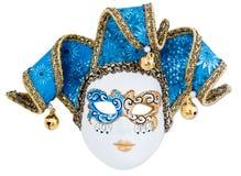karnevalmaskering venice Arkivbild